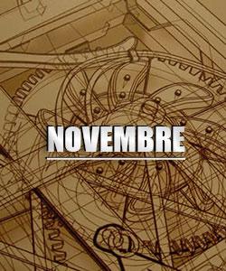Agenda del mese di Novembre - Storia Rinascimentale