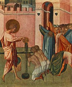 Giovanni di Paolo - Storia Rinascimentale