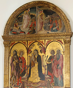 Sano di Pietro - Storia Rinascimentale