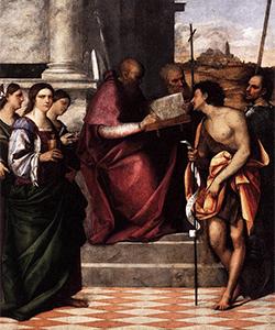 Sebastiano del Piombo - Storia Rinascimentale