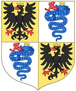 Arma della Dinastia: Sforza - Tratta da Wikipedia
