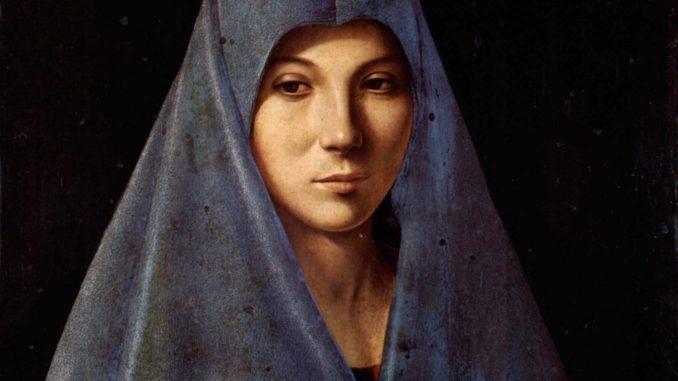 Antonello da Messina - Annunciazione - Galleria Regionale della Sicilia, Palermo