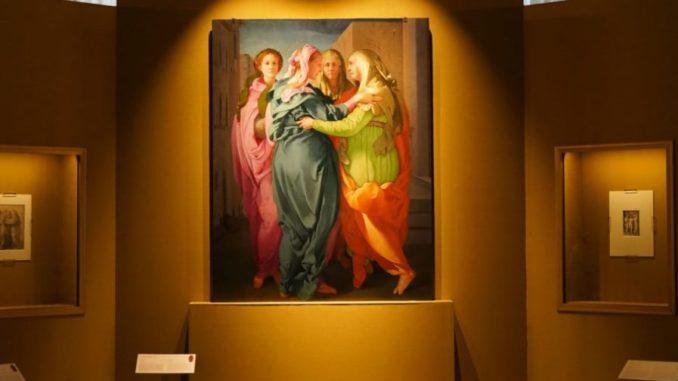 """La """"Visitazione"""" di Jacopo Pontormo"""