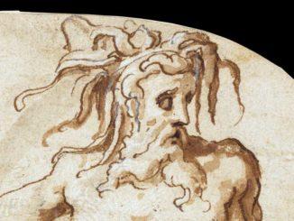 Francesco Salviati, Allegoria dell'Arno (disegno)