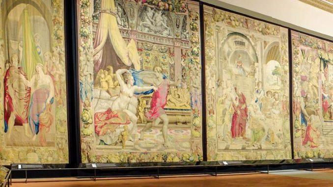 Venti arazzi medicei a Palazzo Vecchio (Firenze)