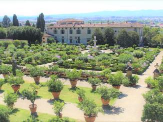 Giardino della Villa Medicea di Castello (dichiarata dall'UNESCO Patrimonio mondiale dell'Umanità nel 2013, la villa è sede dell'Accademia della Crusca)