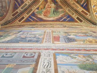 Via al restauro degli affreschi di Benozzo Gozzoli a San Gimignano